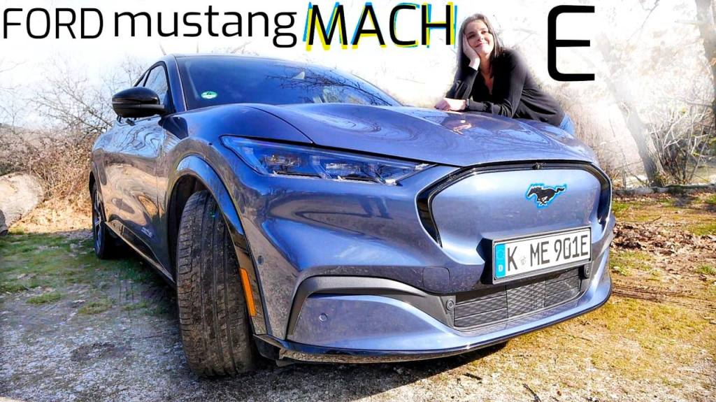 ford mustang mach e electrico
