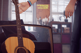 The Winger and the Cow poster in Life is Strange