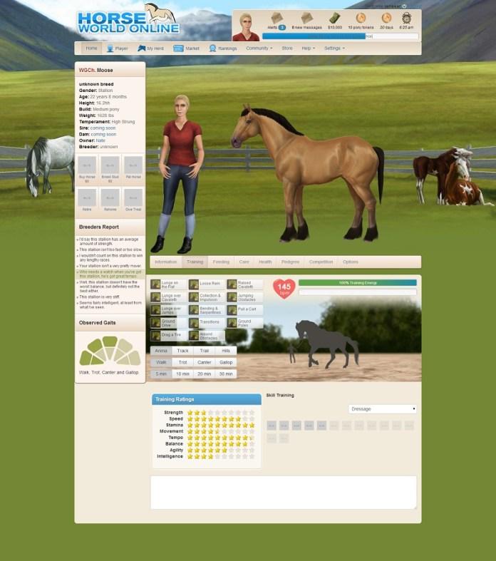 horse world online3