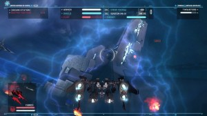 You'll find yourself up close and personal with some of the bigger ships to destroy turrets and shield generators.