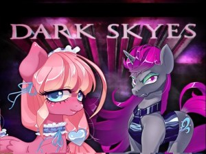 Dark Skyes is a brony dating simulator that was on Kickstarter