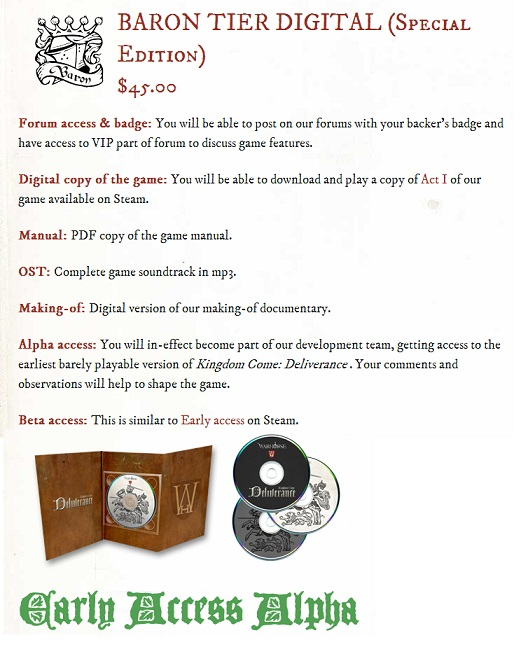 Win A Copy Of Kingdom Come: Deliverance - Cliqist