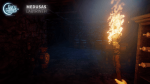 Medusa's Labyrinth, a Greek themes Oculus Rift action adventure on Kickstarter