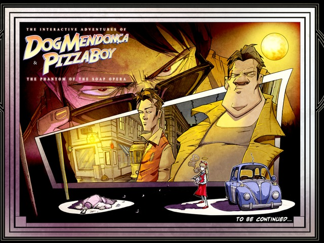 The Interactive Adventures of Dog Mendonca and Pizza Boy is classic style adventure game now on Kickstarter