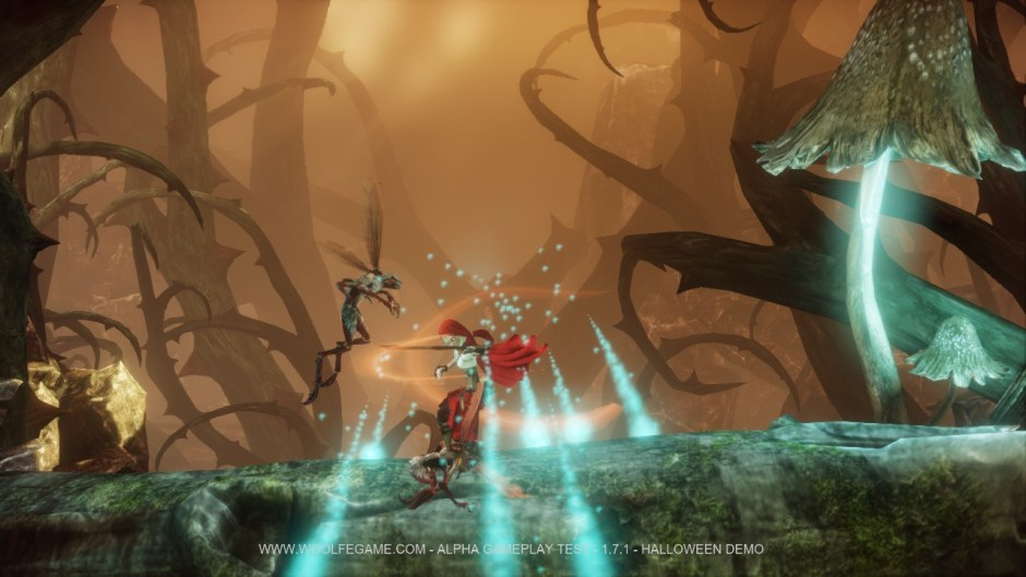 Woolfe is a Kickstarter funded 3D platformer featuring a tough as nails Little Red Riding hood. Look for it on PC, Xbox One, and PS4