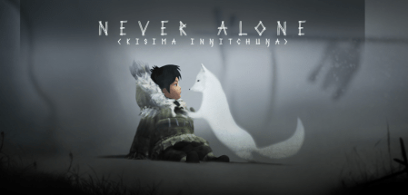 Never Alone is a puzzle platformer that focuses its story on Native American mythology.