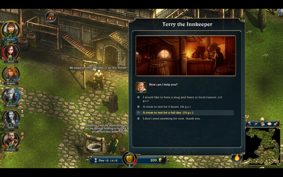 Lords of Xulima is an old-school RPG that was crowdfunded on both Kickstarter and IndieGogo.