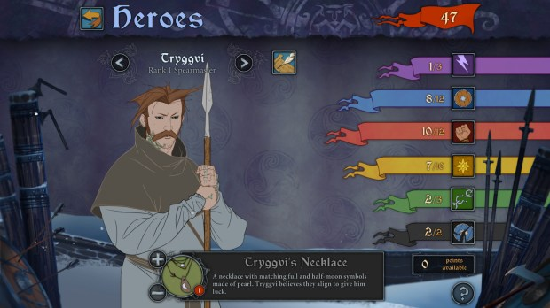 The Banner Saga is an epic strategy game where vikings must survive a treacherous journey.
