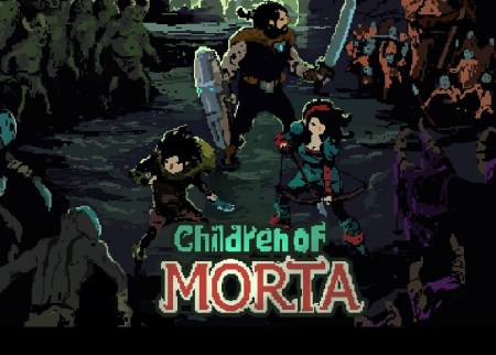 Children of Morta is a 2D retro roguelike with some beautiful pixel graphics.
