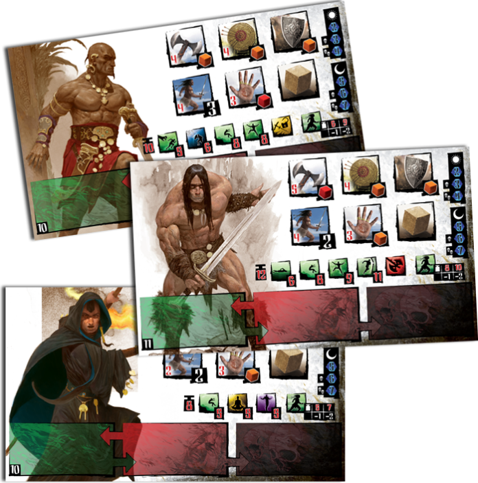 Conan is a new Kickstarter funded board game from Monolith Board Games