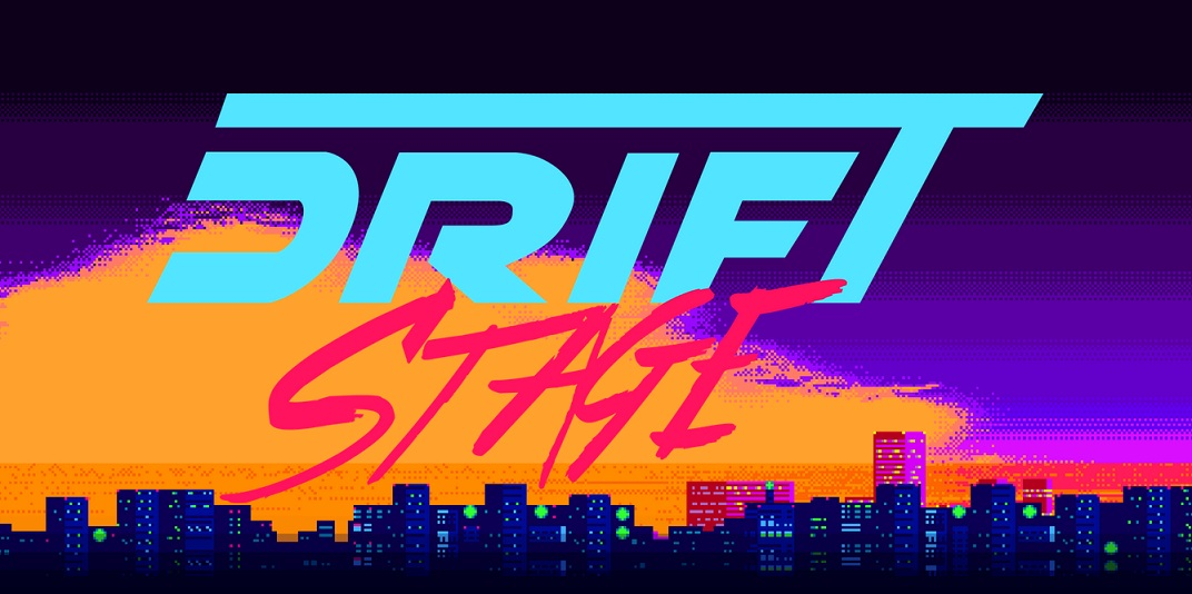 Drift Stage is an 80's inspired car racing game that recently launched on Kickstarter.