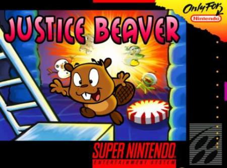 Justice Beaver is a new platformer being crowdfunded on IndieGogo that's going to be released for the SNES.