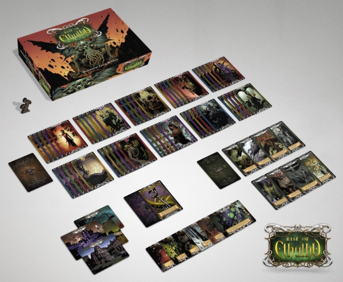 Rise of Cthulhu is a new board game from Chuck D Yager, and it's Crowdfunding on Kickstarter