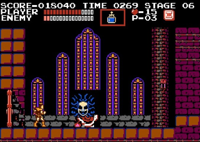 Castlevania for the original NES