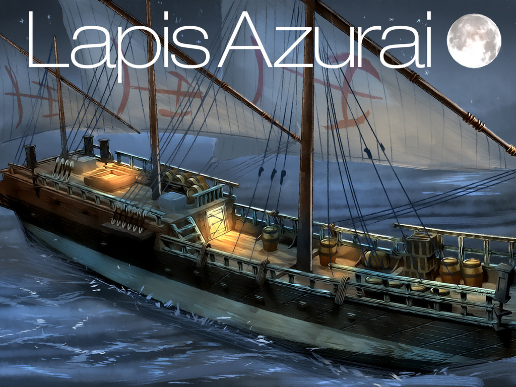 Lapis Azurai is a new visual novel sim/strategy game on Kickstarter