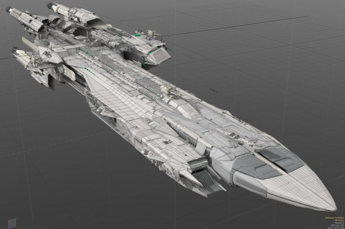 Star Citizen Pegasus Escort Carrier