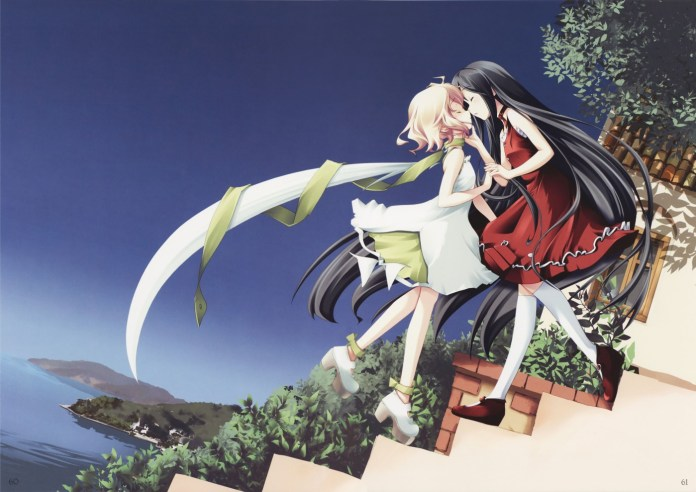 Katahane - yuri visual novels