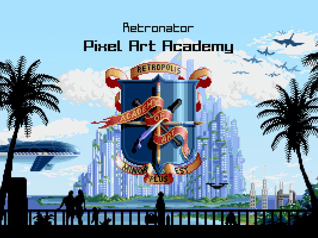 Retronator Pixel Art Academy