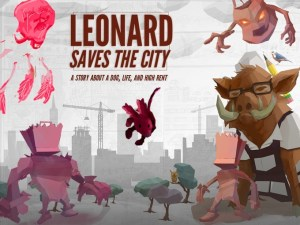 Leonard Saves The City