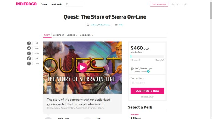 Quest: The Story of Sierra On-Line