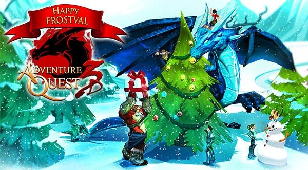 AdventureQuest 3D Kicks Off Frostval Celebration