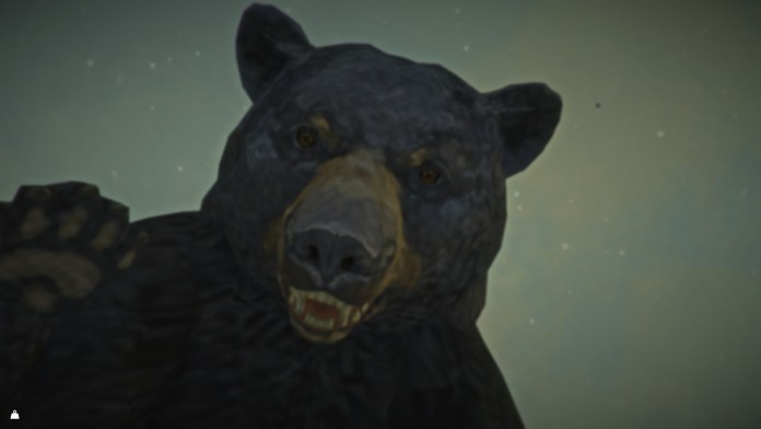 The Long Dark Bear Closeup