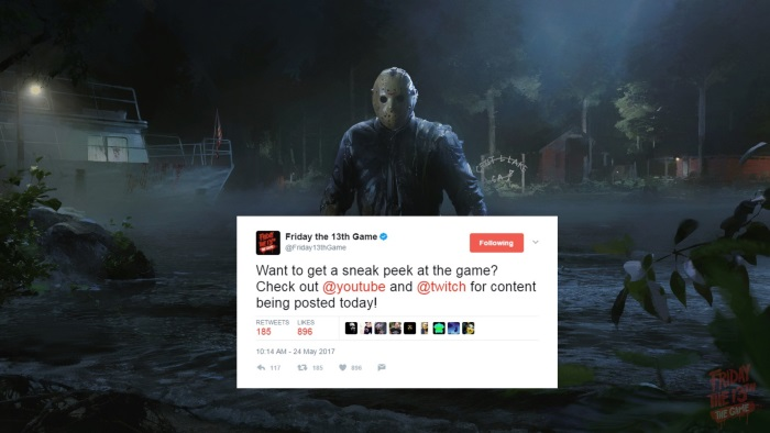 Friday The 13th The Game Backers Out For Blood Over Content Creator Release