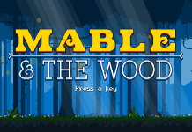 mable&thewood-title screen