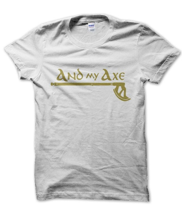 And my axe Lord of the Rings t-shirt by Clique Wear