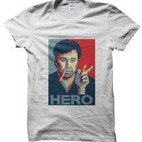 Bill Hicks comedy Hero t-shirt by Clique Wear