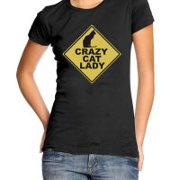 Crazy cat lady t-shirt by Clique Wear