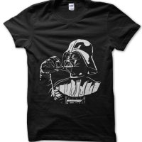 Darth Inhaler Darth Vader Star Wars t-shirt by Clique Wear