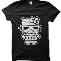 Darth Kitty Star Wars v Hello Kitty t-shirt by Clique Wear