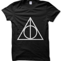 Deathly Hallows Symbol Harry Potter t-shirt by Clique Wear