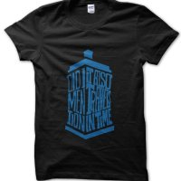 Did I Mention It Also Travels In time Dr Who tardis t-shirt by Clique Wear