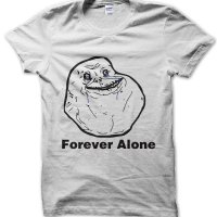 Forever Alone meme t-shirt by Clique Wear
