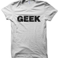 Geek t-shirt by Clique Wear