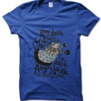 Hard Dalek Cold Dalek Little Can Of Hate Big Bang Theory Dr Who t-shirt by Clique Wear
