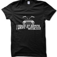I Drive at 88mph Back to the Future inspired t-shirt by Clique Wear