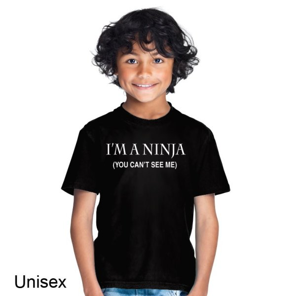 I'm a Ninja (You Can't See Me) t-shirt by Clique Wear
