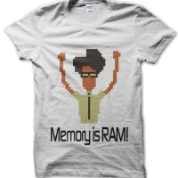 Memory is RAM The IT Crowd inspired t-shirt by Clique Wear