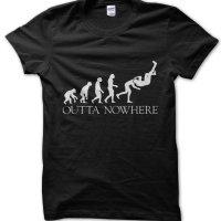 RKO Outta Nowhere WWE Randy Orton wrestling t-shirt by Clique Wear