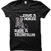 Save a Horse Ride a Tauntaun Star Wars t-shirt by Clique Wear