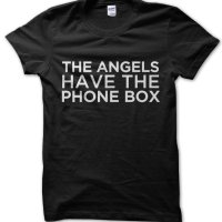 The Angels Have the Phone Box Dr Who t-shirt by Clique Wear