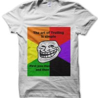 The Art of Trolling meme t-shirt by Clique Wear
