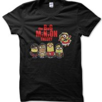 The Big Minion Theory t-shirt by Clique Wear