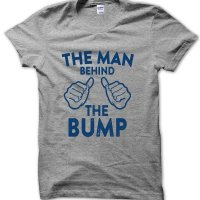 The man behind the Bump t-shirt by Clique Wear