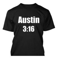 Austin 3:16 WWE WWF wrestling Stone Cold Steve Austin t-shirt by Clique Wear