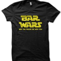 Bars Wars (Star Wars) May the Booze be With You t-shirt by Clique Wear