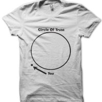 Circle of trust t-shirt by Clique Wear